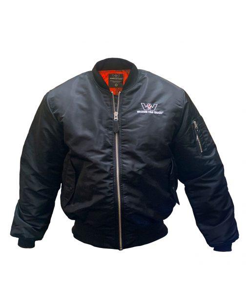 Bomber jacket for web